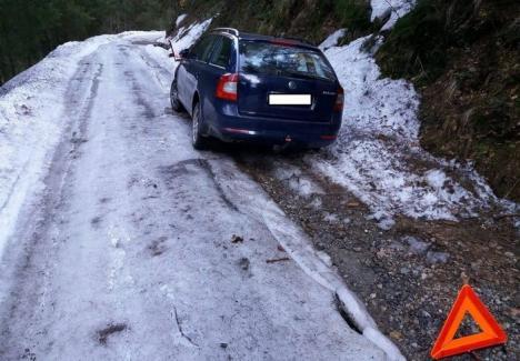 Nu treceţi! Lista drumurilor închise în Bihor pe perioada iernii