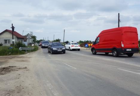 Noul drum de legătură între Oradea şi Sîntandrei va fi construit de Drumuri Bihor