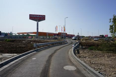 Drumul colector care leagă șoseaua de centură de Calea Aradului a fost dat în folosință (FOTO)