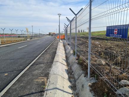 Noul drum de legătură între Calea Aradului şi şoseaua de centură a fost finalizat (FOTO / VIDEO)