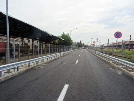 În sfârşit! Drumul rapid din Oradea se deschide vineri traficului rutier pe întregul său traseu (FOTO)