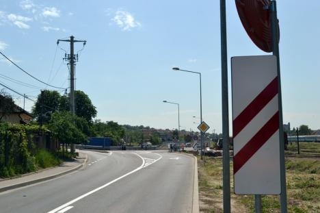 Fără panglică! Drumul rapid a fost deschis circulaţiei inclusiv pe porţiunea de pe terenul CFR (FOTO / VIDEO)