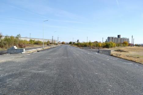 Doar de sărbători. Lucrările la drumul de Sântandrei se prelungesc până pe 15 decembrie (FOTO/VIDEO)