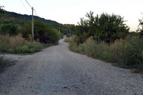 Cale bătută! Locuitorii din Podgoria îşi rup maşinile pe drumuri prăfuite, pietruite de mântuială (FOTO)