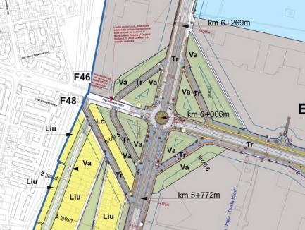 Fără cozi! Şoferii vor putea evita giraţia din Calea Aradului pe patru drumuri ocolitoare