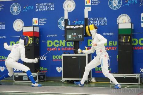 Alexandra Drăgan a adus o medalie de bronz pentru LPS Bihorul de la Cupa României la spadă