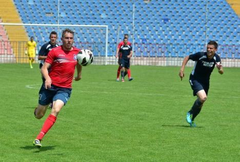 FC Bihor a învins cu 1-0 Minerul Motru şi a urcat pe locul II în play-out (FOTO)