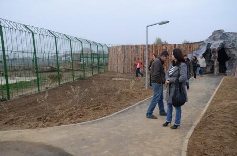 Lucrările de modernizare şi extindere a Grădinii Zoologice au fost finalizate (FOTO)