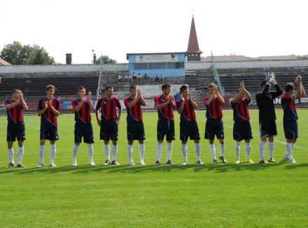 FC Bihor întâlneşte campioana