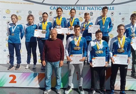 Sportivii de la CSU Oradea, campioni naționali la tir sportiv