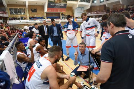 Baschetbaliştii de la CSM CSU Oradea se antrenează în ritm normal