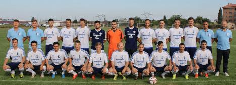 Studenţii orădeni sunt ca şi calificaţi la turneul final al Campionatului Naţional Universitar de fotbal