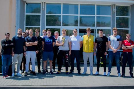 CSM Oradea a înscris şi echipa de polo în LEN Champions League