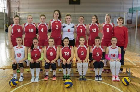 CSU Oradea participă la turneul de promovare în Divizia A1 la volei feminin