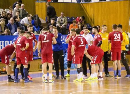 Handbaliştii de la CSM Oradea s-au impus şi la Sibiu şi au numai victorii în noul sezon