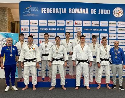 Judoka de la CSS LPS Bihorul au cucerit 8 medalii la Finala Campionatului Național de juniori