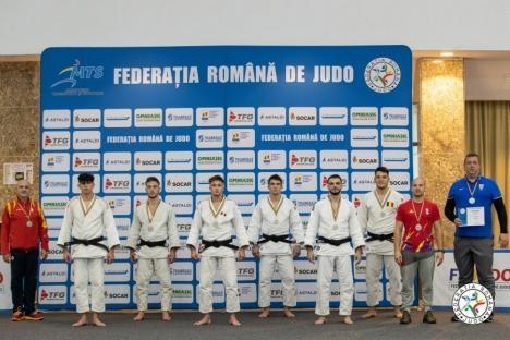 CSM Oradea şi-a adjudecat şase medalii la întrecerile Cupei României de judo seniori