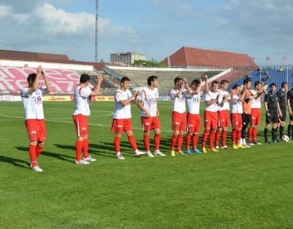 FC Bihor contestă la TAS hotărârea de neacordare a licenţei pentru Liga I