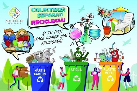 SMID, soluţia pentru un Bihor curat! Colectarea separată a deşeurilor biodegradabile, un obiectiv pentru toţi bihorenii