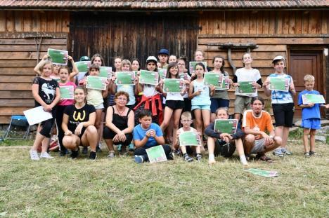"""""""Wildlife watch"""": Elevi bihoreni au învăţat, alături de Ecotop, cum să fie ecologişti (FOTO)"""