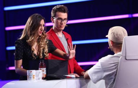 Cum i-au impresionat magicienii orădeni Eduard şi Bianca pe juraţii de la iUmor (VIDEO)