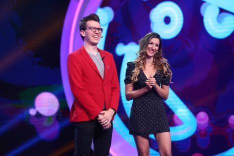 Magicienii orădeni Eduard și Bianca s-au calificat în finala iUmor (VIDEO)
