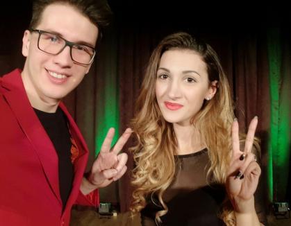 Orădenii Eduard şi Bianca lansează 'Cartea cu magie'