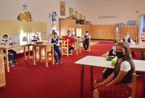 """Cum începe şcoala în Bihor: Oradea este în scenariul galben, cinci comune sunt """"roşii"""". Vezi care elevi se reîntorc în bănci în fiecare localitate!"""