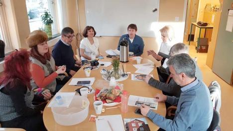 Elevi şi profesori de la Liceul Teoretic 'Lucian Blaga', din nou în Suedia (FOTO)