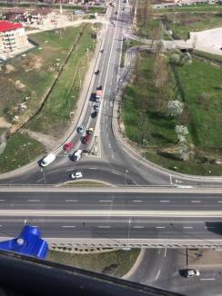 Maraton de radare în Bihor: Şoferii de pe DN1 vor fi urmăriţi din nou din elicopter!