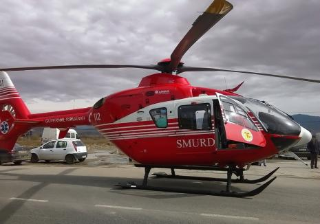 Doi copii din Bihor au ajuns la spital, grav răniți, după ce s-au jucat cu benzină și foc! (VIDEO)