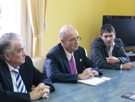 Ambasadorul Israelului a vizitat Primăria