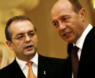 Cutremur în coaliţie: Boc a vrut să-şi dea demisia, Băsescu a căutat soluţii
