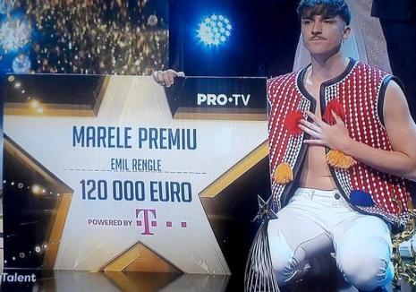 Orădeanul Emil Rengle a câștigat finala concursului Românii au talent 2018. Premiul: 120.000 de euro! (VIDEO)