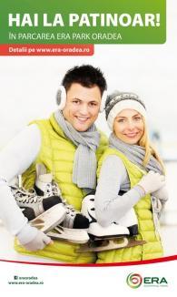 ERA Park te invită la patinoar! Pe 5 și 6 decembrie intrarea este gratuită!