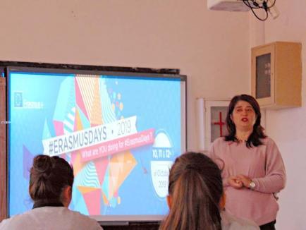 #ErasmusDays2019,la Liceul Teoretic 'Lucian Blaga' din Oradea (FOTO)