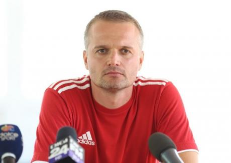 Orădeanul Erik Lincar este noul antrenor al Universității Cluj