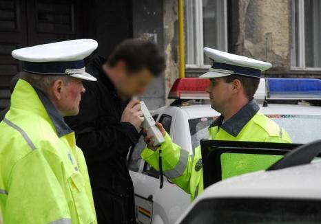 Pericol public! Anchetat pentru 12 infracţiuni rutiere, în 6 dosare penale, un bărbat din Cefa a fost prins beat la volan