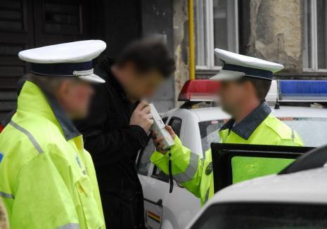 Orădean, prins băut şi drogat la volan. Bărbatul s-a ales cu dosar penal