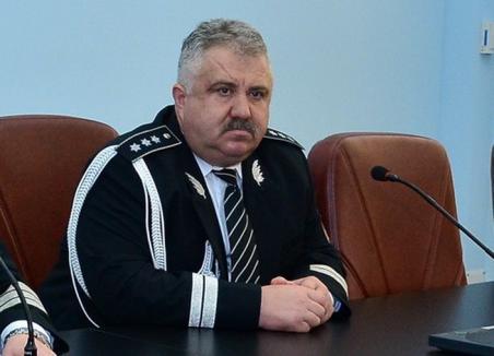 Stop Boc! Adjunctul șefului Poliției Bihor, Eugen Boc, s-a făcut pensionar de lux