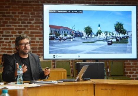 Arhitectul Eugen Pănescu ne propune clădiri mai înalte: 'Zona centrală din Oradea este un fel de sat!'