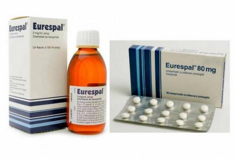 Medicamentul Eurespal, retras de pe piață!