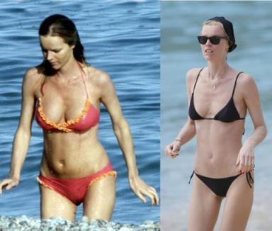 Eva Herzigova e anorexică?