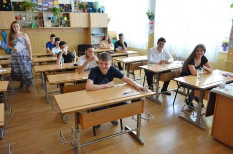 La matematică, şi mai mulţi chiulangii! Evaluarea Naţională s-a încheiat pentru majoritatea elevilor bihoreni (FOTO)
