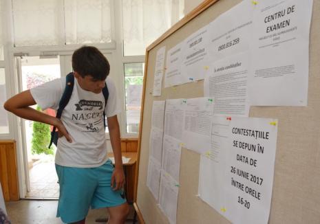 Evaluarea Naţională: Aproape 500 de contestaţii depuse de elevii bihoreni