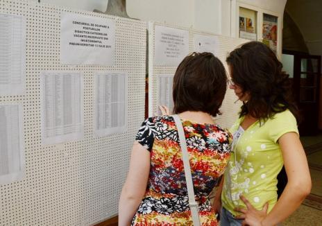 Zece zecişti la examenul de titularizare, în Bihor. Vezi notele!