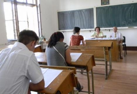 19 candidaţi pe un loc, la examenul de titularizare din Bihor