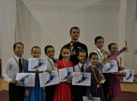 Copiii clubului Exclusive, pe podium la Varadinum Dance Festival