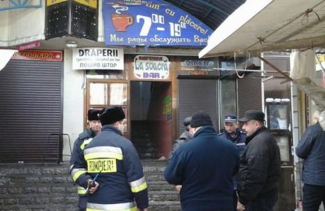 Explozie într-un local din Chişinău, care s-a soldat cu 20 de răniţi. Administratorii au fost reţinuţi (VIDEO)