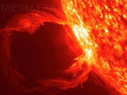 Pământul ar putea fi lovit de un val de căldură extremă, din cauza unei explozii solare masive